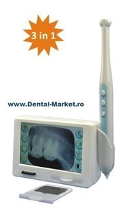 Imaginea Camera intraorala cu LCD Touch screen si CITITOR rx