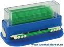 Imaginea Dispenser + 100 Aplicatoare cu puf M (verde - 1.5 mm)