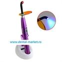 Imaginea Lampa fotopolimerizare wireless 1400 mW   radiometru incorporat in baza