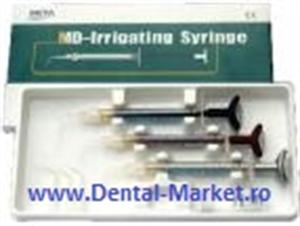 Imaginea MD-Irrigating Syringe seringi pentru irigarea canalului, autoclavabile, 3bucati