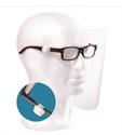 Imaginea Ecran protectie montat pe ochelari PEGASUS -KIT dispozitiv + 12 ecrane