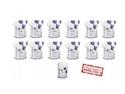 Imaginea Virofex -ViroSurf SuperEconomic Pack servetele dezinfectante pentru suprafete (dispozitiv medical) - 12 pungi refill X 250buc+ tub gol
