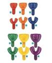 Imaginea Linguri amprenta Ortodontice plastic SET 12 -Pegasus